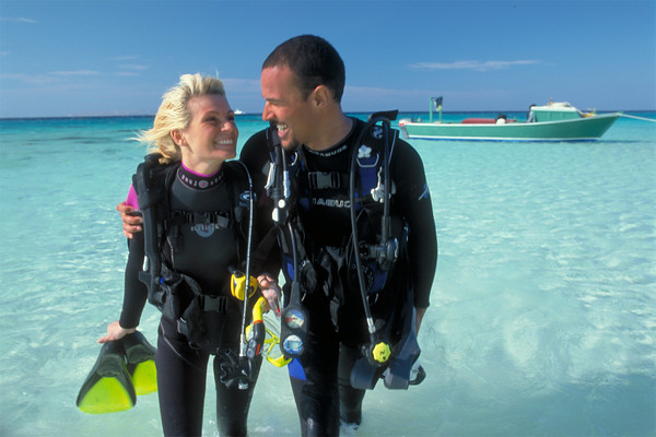 Scuba Diving in El Gouna