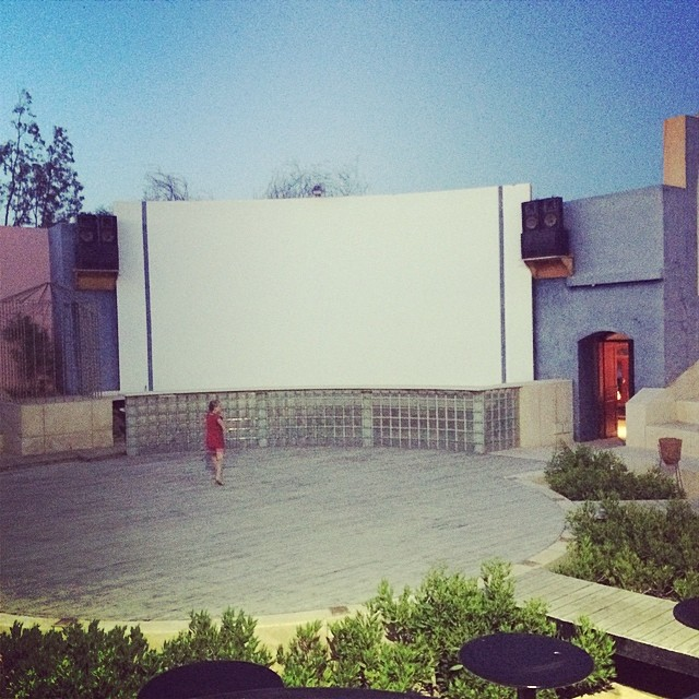 Outdoor Cinema in El Gouna