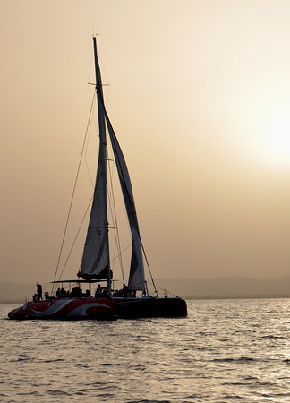 Sailing in El Gouna