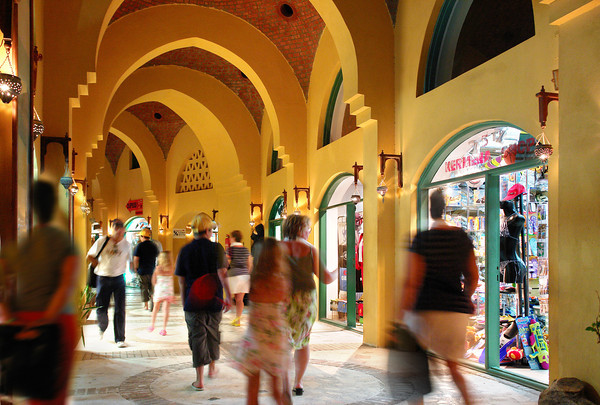 Shopping in El Gouna
