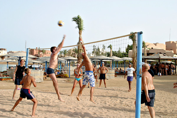 Volleyball in El Gouna