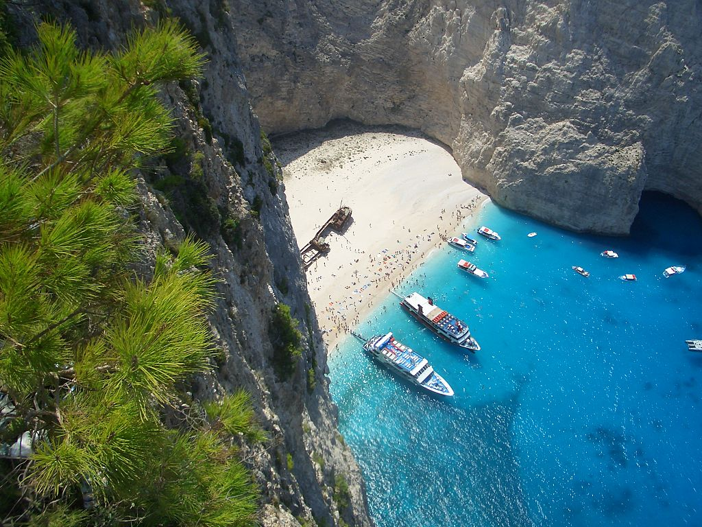 Shipwreck beach - Greece