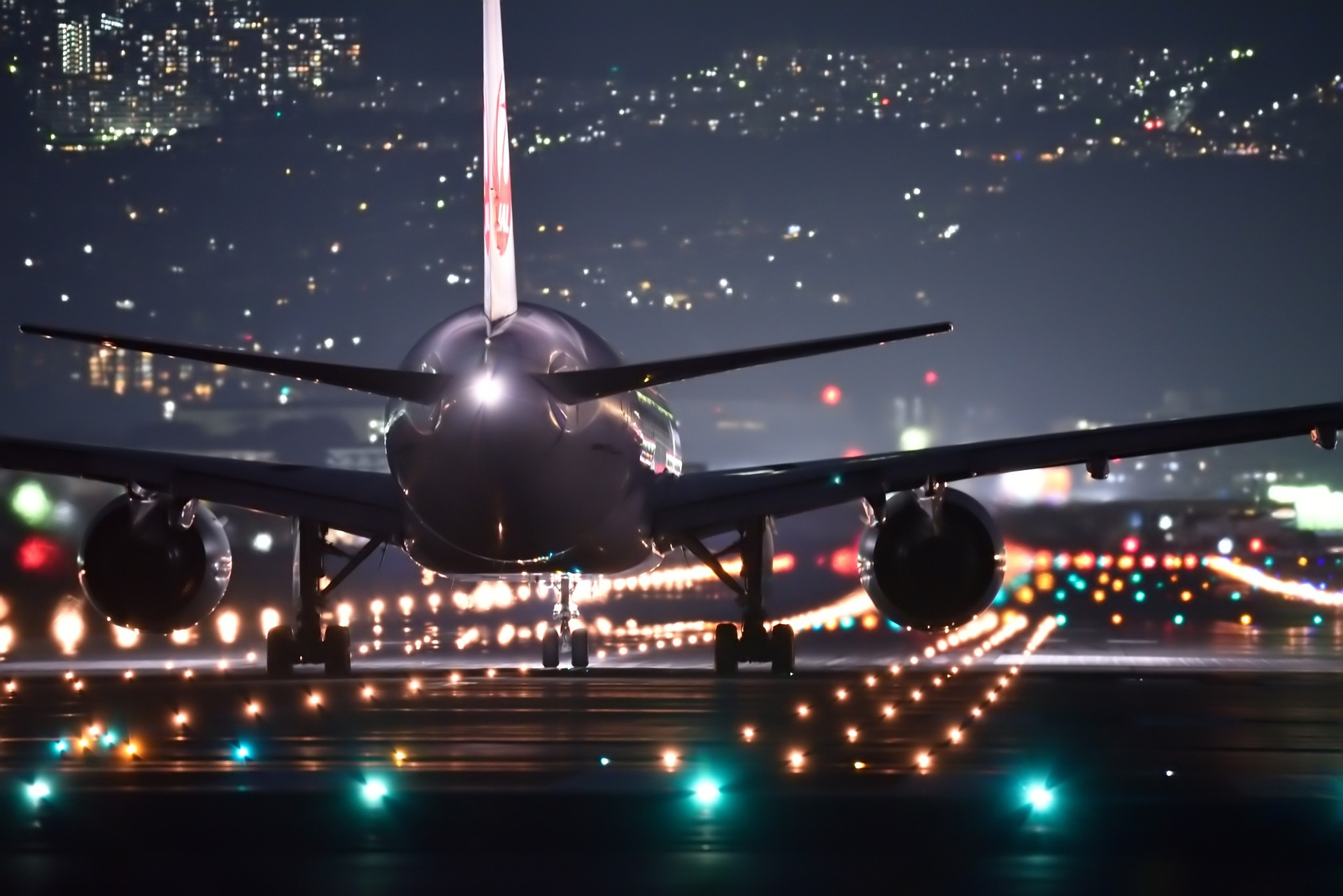 AirportNightFlight